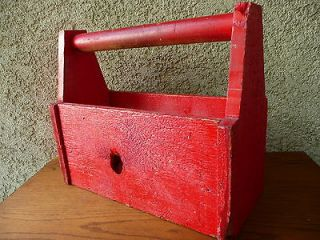 Tool Box Primitive Hand Made Wood Food & Drug Act 1906 Heinz Co