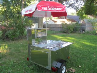 Hot Dog Cart in Concession Trailers & Carts