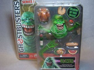 NECA 2004 Ghostbusters Series 1 Glows In The Dark SLIMER Action Figure