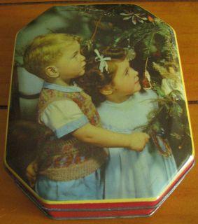 Vintage Blue Bird Toffee Tin Christmas & Children Harry Vincent Ltd