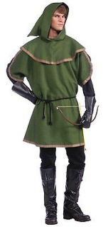 Robin Hood Sherwood Forest Adult Costume Renaissance Faire Tunic