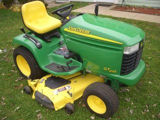John Deere GT245 garden tractor w/20HP Kawasaki engine & 54 mower