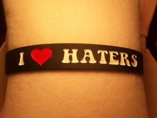 love haters bracelet in Wristbands