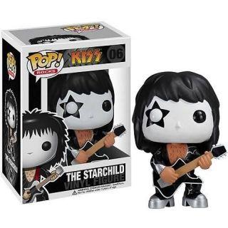 Kiss The Starchild Paul Stanley Funko POP Vinyl Figure Doll