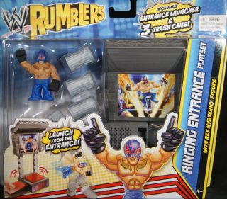 RINGING ENTRANCE PLAYSET   WWE RUMBLERS TOY WRESTLING FIGURE
