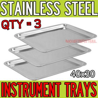 11.5 Stainless Steel Tray Medical Tattoo Dental Piercing Instrument