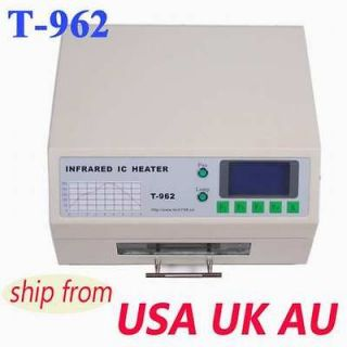 T962 INFRARED IC HEATER REFLOW WAVE OVEN BGA T 962 k