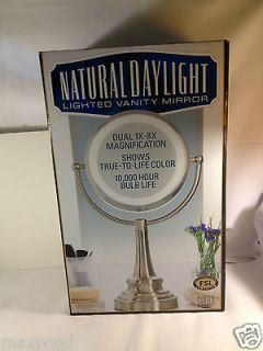 Natural Daylight Lighted Vanity Mirror