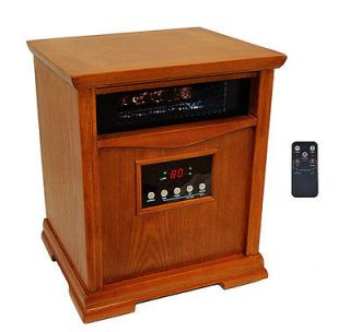 LifeSmart LS 18XST 6 6 Element Infrared Heater Heats Up To 1500 Sq Ft