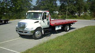 2012 WRECKER ROLLBACK TOW TRUCK INTL MAXXFORCE W/DUAL TECH 16000