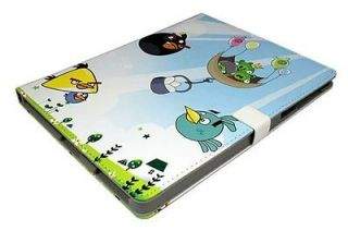 Leather Angry Birds themed Cover Case for iPad 2/3/4