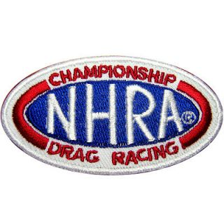 NHRA Hot Rod Racing Motorcycle Car Team Nos Turbo Jacket Suit Patch