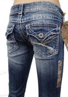 Silver Jeans MCKENZIE Slim Boot Cut Low Rise Good Price