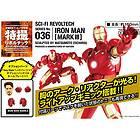 Fi REVOLTECH Series No.036  IRON MAN MARK III Figure JAPAN ironman 3