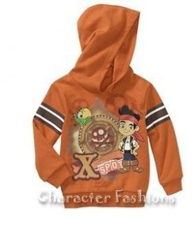 JAKE AND THE NEVERLAND PIRATES 24 Months 2T 3T 4T 5T Shirt Sweatshirt