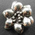 Tibetan Silver Flower Jewelry Connector bails 10x8mm