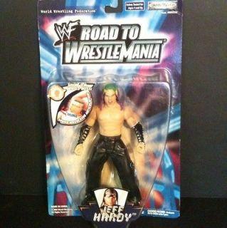 WWF RARE Jakks Jeff Hardy Road to WrestleMania Figure WWE MOC