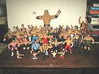 WWE TNA ETC WRESTLING ACTION FIGURES HULK JEFF HARDY ETC.,SOLD AS IS