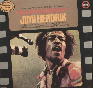 Soundtrack from Experience Jimi Hendrix Vinyl LP Record Album IMPORT