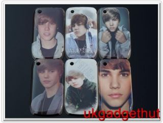 Justin Bieber Hard Case Cover for Blackberry 8520 Curve UK SELLER #51
