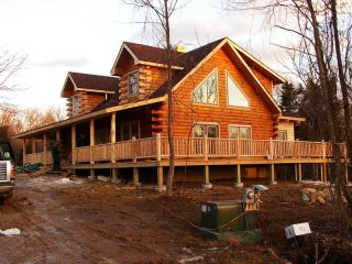 Log Home Kit in Business & Industrial