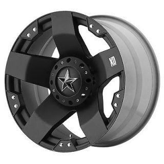 18 inch Black wheels XD775 Rockstar Chevy Gmc Dodge 2500 3500 Trucks 8