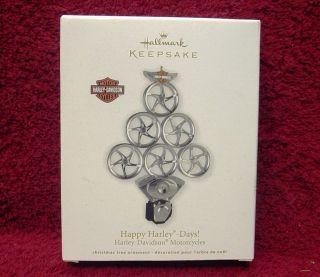 HALLMARK CHRISTMAS KEEPSAKE ORNAMENT HARLEY DAVIDSON 2011 NEW IN BOX