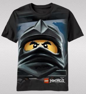 NEW Lego Ninjago Master Of Spinjitzu Ninja Mask Face Logo Poster T