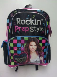 Brand New Victoria Justice Victorious large backpack school tori vega