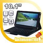 Bluetooth Keyboard PU Leather case Samsung Galaxy Tab 10 1 P7510 P7500