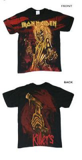 Iron Maiden   Yellow Killers All Over Print T Shirt
