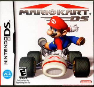 MARIO KART (NINTENDO DS GAME) DSi DSi XL NTSC GAME CANADA / USA