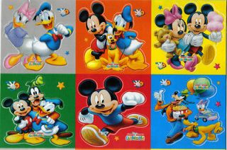Disney Mouse Goofy Pluto Duck miki mini Wall Sticker