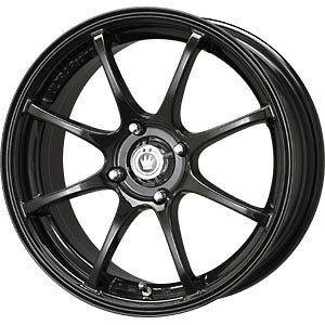 New 15X6.5 4x100 KONIG Feather Black Wheels/Rims