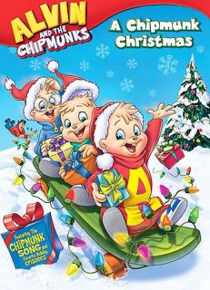 the Chipmunks   A Chipmunk Christmas (DVD, 2008, Repackaged) PERFECT