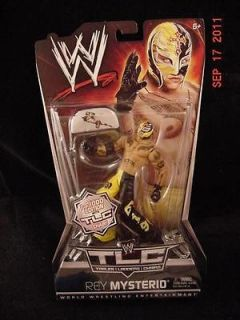 2011 WWE TLC Tables ladders Chairs Rey MYSTERIO Chase Variant Chair 1