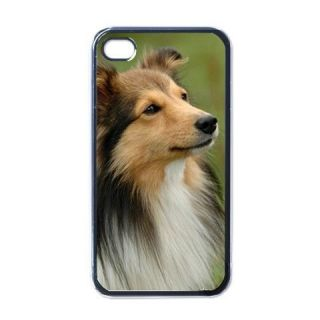 Sheepdog Sheltie Dog Puppy Puppies #5 Apple iPhone 4 Case Cover