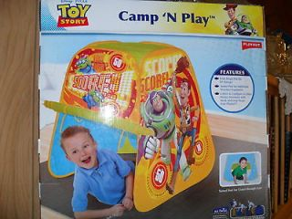 Newly listed New DISNEY TOY STORY Pop Up Hideaway Play Tent Mint in