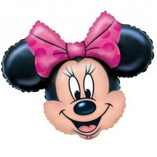 MINNIE MOUSE Head 34 XXXL Happy Birthday Baby Shower Balloon Mickey