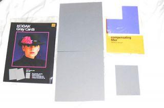 KODAK GRAY CARDS PHOTOGRAPHY FILM OR DIGITAL OR VIDEO