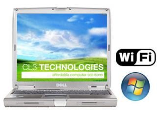 Dell Latitude D610 Laptop Fast P4 M 1.7Ghz DVD/CDRW XP 3 WiFi Notebook