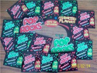 100 Pks Classic Pop Rocks Candy Party Favor Pinata Bulk Christmas