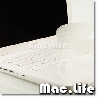 ARRIVAL CLEAR TPU Keyboard Cover Skin for OLD Macbook White A1181