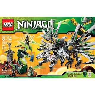 New LEGO Ninjago 9450 Epic Dragon Battle