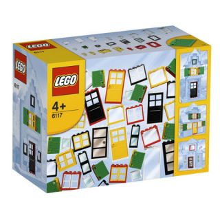 LEGO 6117 DOORS AND WINDOWS HOUSE BRICKS 100PCS NEW