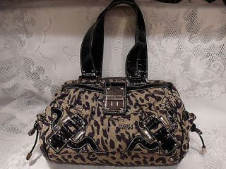 guess leopard purse in Handbags & Purses
