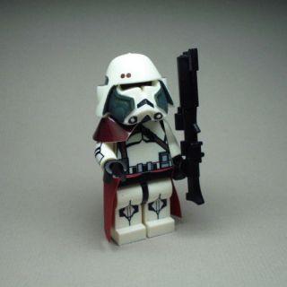 LEGO Star Wars Captain Bacara Trooper Custom Figure