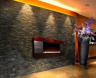 wall mount fireplace electric in Fireplaces