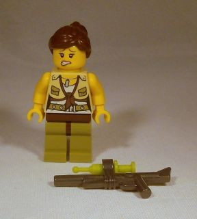 Lego Dino Minifig   Female Hero Minifigure w/ Tranquilizer Gun 5887
