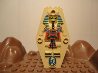 Lego Tan Printed Coffin Lid Egyptian Adventurer Pharaoh Hotep Minifig